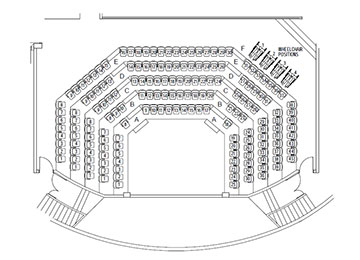 Seating Map Plenty Ranges Arts And Convention Centre
